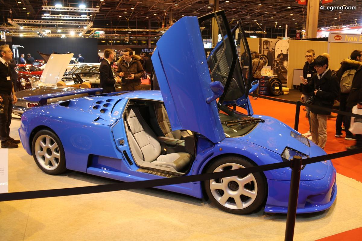 Rétromobile 2018 - La dernière des 31 Bugatti EB 110 SS produites