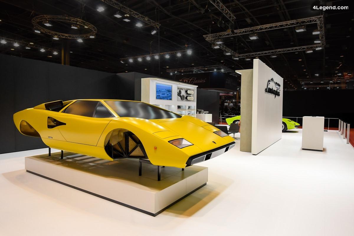 Rétromobile 2018 - Lamborghini Polo Storico présente ses derniers projets : Countach LP400 et Miura P400