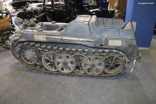 "Rétromobile 2018 – NSU HK 101 (SdKfz 2) ""Kettenkrad"" de 1942"