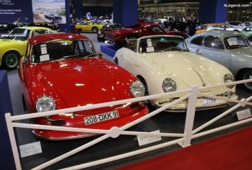 Rétromobile 2018 – Porsche 356 A 1600 GS Carrera de luxe cabriolet de 1959 – Collection Jean-Claude Miloé