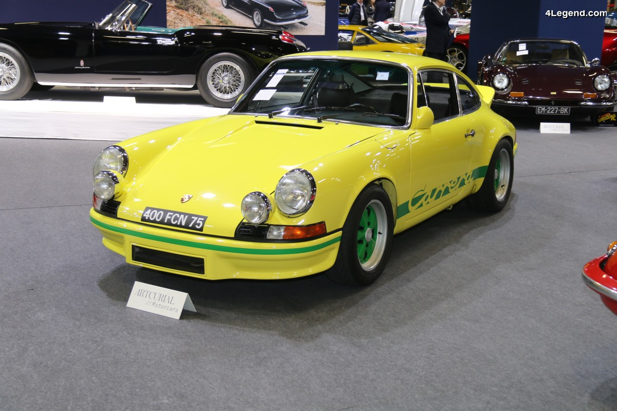 Rétromobile 2018 - Porsche 911 Carrera RS de 1973 - Collection Jean-Claude Miloé