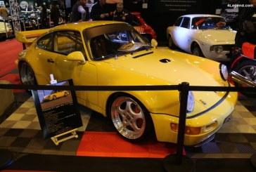Rétromobile 2018 – Porsche 911 Carrera RSR 3,8 Type 964 de 1993 avec seulement 4600 km