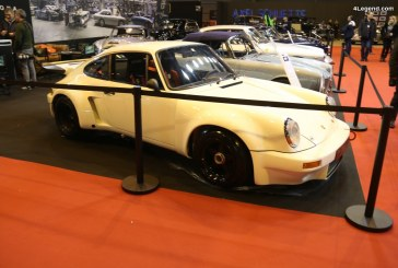 Rétromobile 2018 – Porsche 911 RSR 3.0 de 1974 – L'une des 55 construites