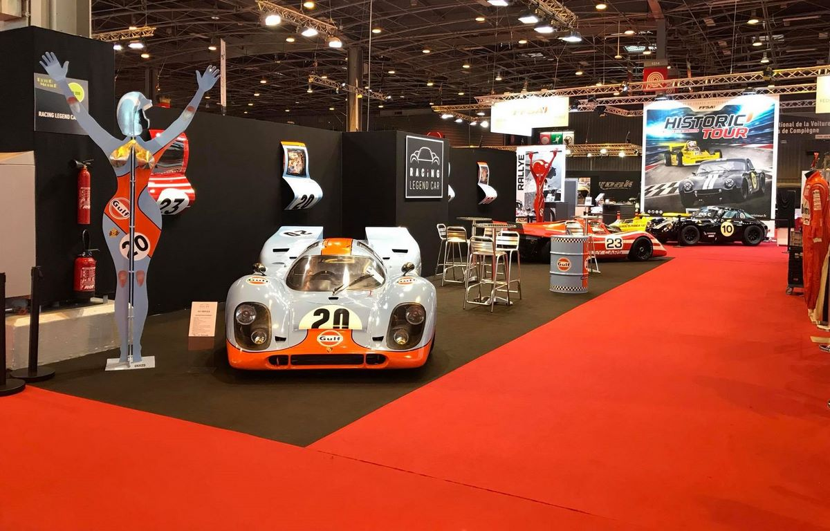 Rétromobile 2018 - Replica de Porsche 917 K par Racing Legend Car