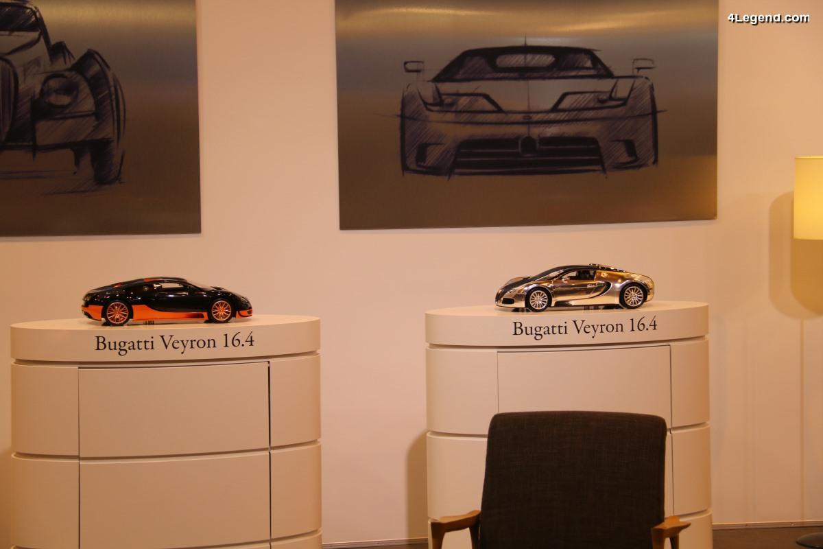 Rétromobile 2018 - Bugatti lance une nouvelle offre de services pour la Bugatti Veyron