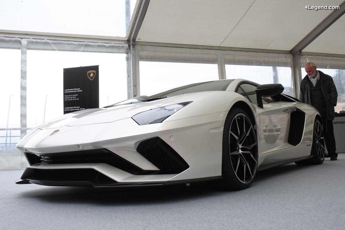 SIAM 2018 - Lamborghini Aventador S & 400 GT