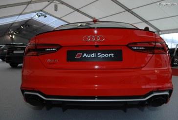 SIAM 2018 – Exposition de modèles Audi dont une superbe RS 5 Coupé