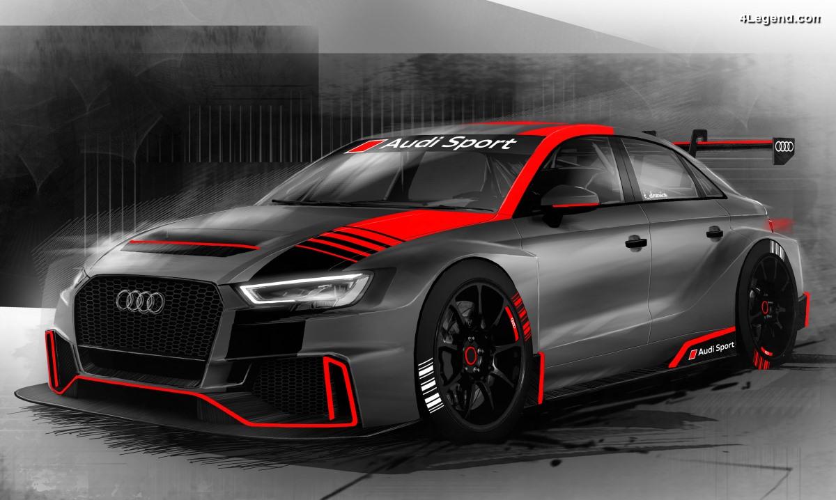 Engagement de l'Audi Sport customer racing avec 2 équipes partenaires en WTCR - FIA World Touring Car Cup