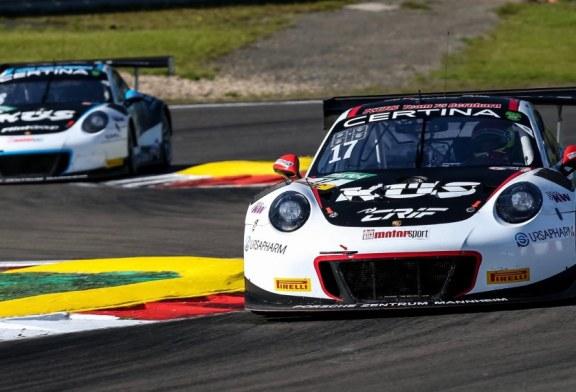 Quatre Porsche 911 GT3 R engagées à l'ADAC GT Masters