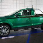 Audi Q7 Pick-up «Green Duck» de 2007 – Un véhicule unique fait par des apprentis Audi