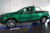 """Audi Q7 Pick-up """"Green Duck"""" de 2007 – Un véhicule unique fait par des apprentis Audi"""