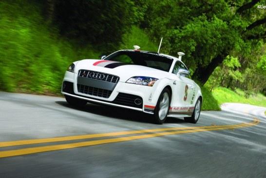 Audi TTS Pikes Peak de 2009 – Le premier concept de voiture autonome d'Audi