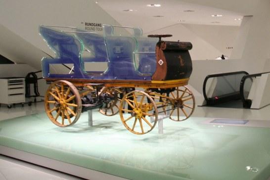 """Egger-Lohner Modell C.2 Phaeton """"P1"""" de 1898 – La première Porsche au monde"""