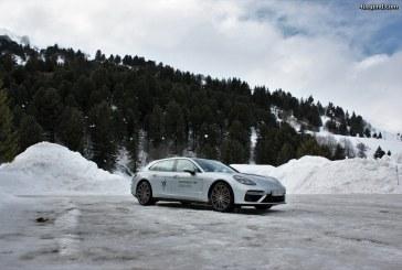 Porsche essais hiver 2017-2018: Panamera Sport Turismo Turbo