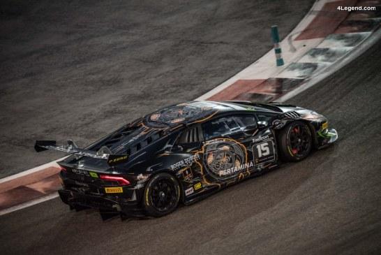 Double victoire de Agostini et Breukers au Lamborghini Super Trofeo Middle East à Abu Dhabi