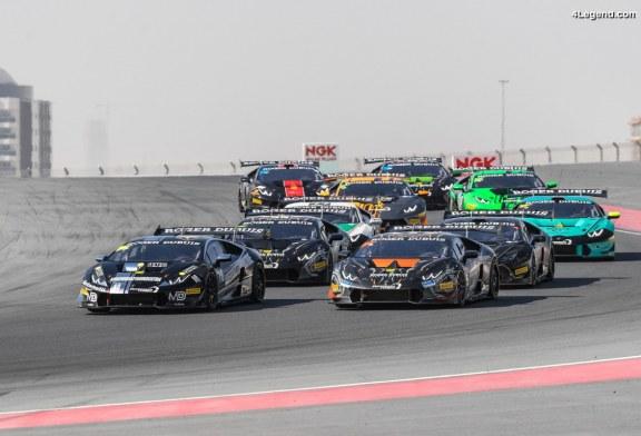 Lamborghini Super Trofeo Middle East – Bartholomew et Pull gagnent également la course 2 à Dubaï