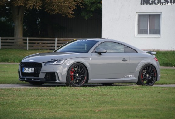 MTM TT RS Stage 2 – 552 ch et 650 Nm pour l'Audi TT RS : Un vrai missile routier