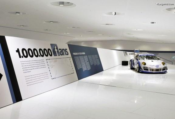 Une Porsche 911 GT3 R Hybrid ornée de noms de plus de 27 000 fans pour le premier million de fans Facebook