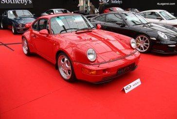Porsche 911 Turbo 3,6 Type 964 de 1994 – L'un des 51 exemplaires équipés du kit moteur X88 de 385 ch