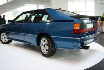 Audi quattro Allradlenkung de 1984 – Un prototype unique d'Audi Ur-quattro à 4 roues directrices