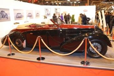 Rétromobile 2018 – Bugatti Type 57C Stelvio Cabriolet Gangloff de 1938