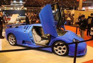Rétromobile 2018 – La dernière des 31 Bugatti EB 110 SS produites