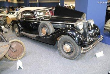 Rétromobile 2018 – Horch 853 Sport Cabriolet de 1937 d'origine et dans son jus