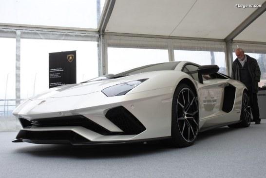SIAM 2018 – Lamborghini Aventador S & 400 GT