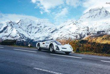 Porsche met en scène 5 voitures de course sur la route du Grossglockner