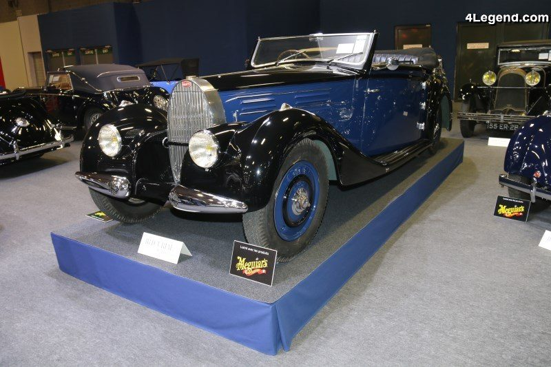 R 233 Tromobile 2018 Bugatti Type 57 Cabriolet Vanvooren De