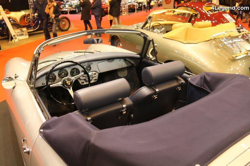 r tromobile 2018 porsche 356 c cabriolet de 1964 avec moteur bo te et freins de porsche 911. Black Bedroom Furniture Sets. Home Design Ideas