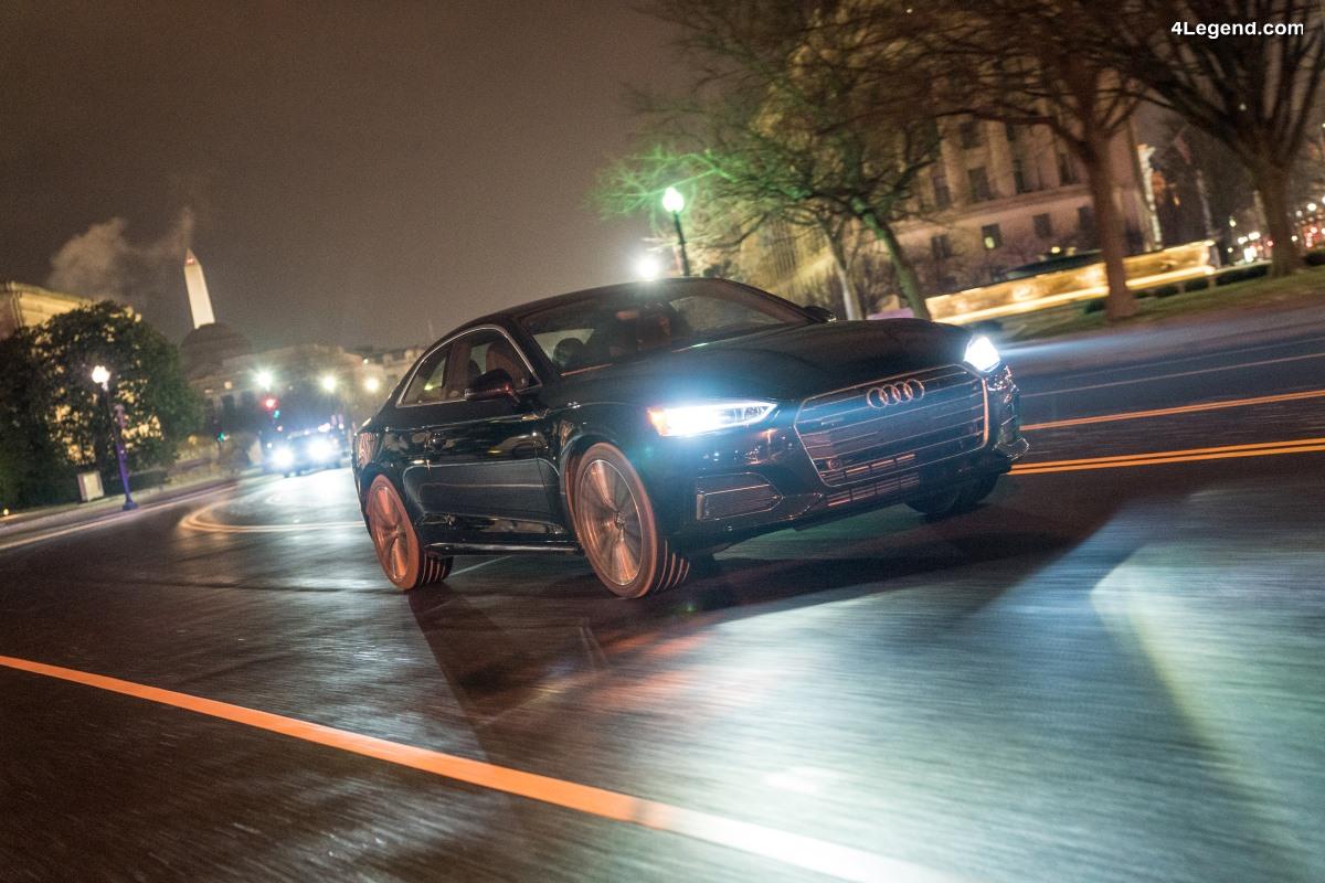 Traffic Light Information - Audi étend son service d'information sur les feux de circulation à Washington, D.C.