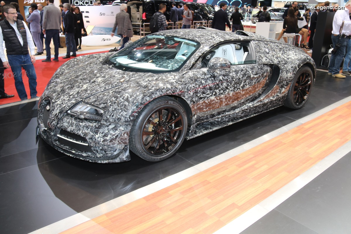 Mansory Bugatti Vivere Diamond Edition by Moti - Genève 2018