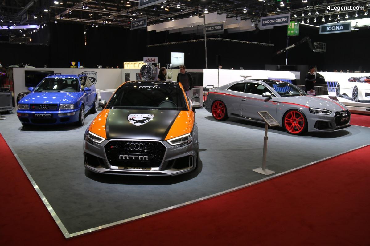 Genève 2018 - MTM RS3 R Clubsport : une Audi RS 3 berline démoniaque