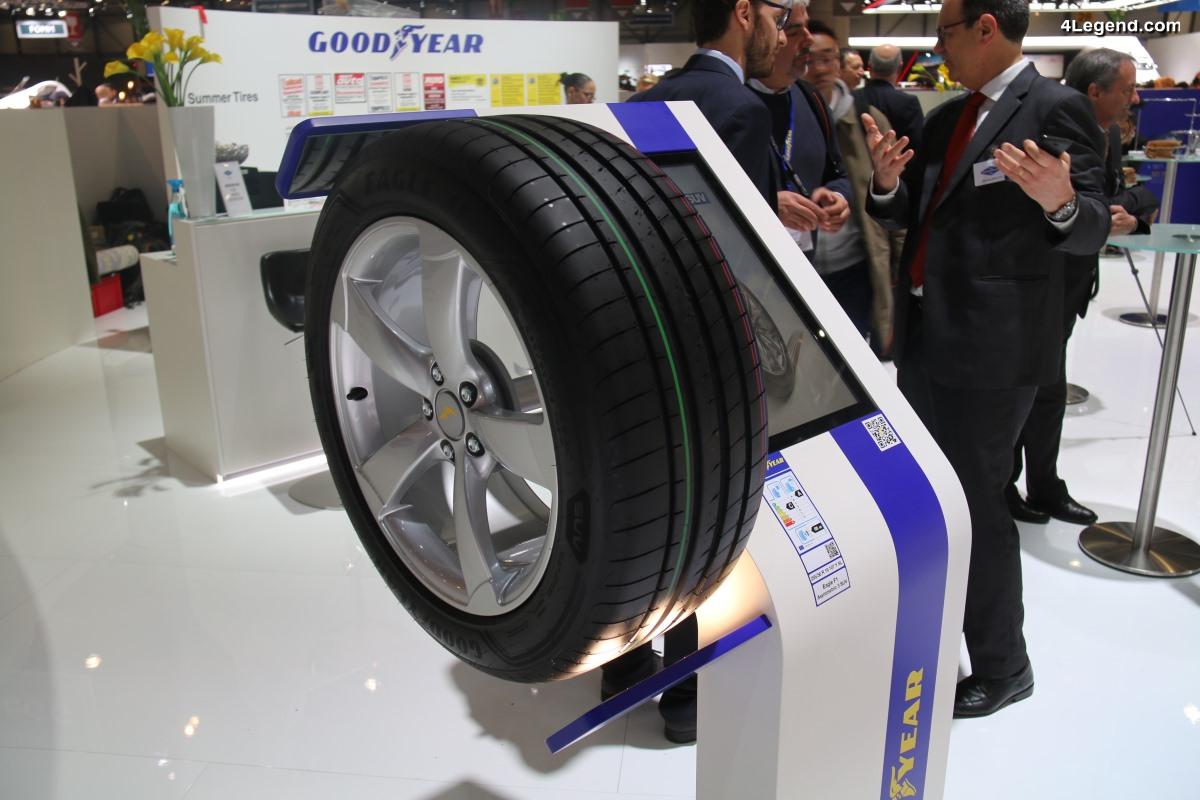 Nouveau pneu Goodyear Eagle F1 Asymmetric 3 SUV - Un pneu UHP pour SUV dévoilé à Genève 2018