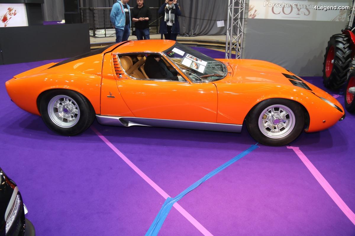 TCE 2018 - Lamborghini Miura SV de 1967 de pré-série