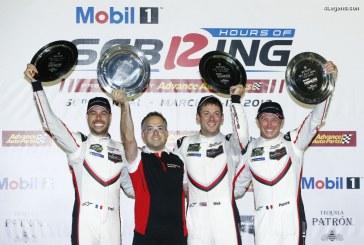 12H Sebring 2018 – Victoire et troisième place pour Porsche avec sa 911 RSR
