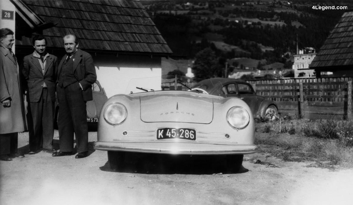 70 ans de voitures de sport Porsche en Suisse - Les débuts de Porsche en Suisse