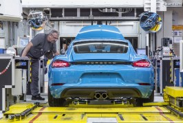 Porsche va verser 9656 euros de primes à ses employés suite à l'excellente année 2017