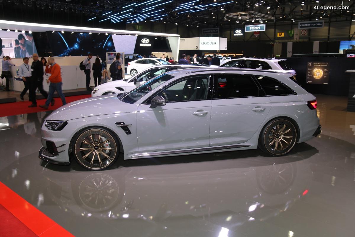 Genève 2018 - ABT RS4-R avec la jante ABT Aero Wheel - L'Audi RS 4 Avant B9 revue par ABT Sportsline