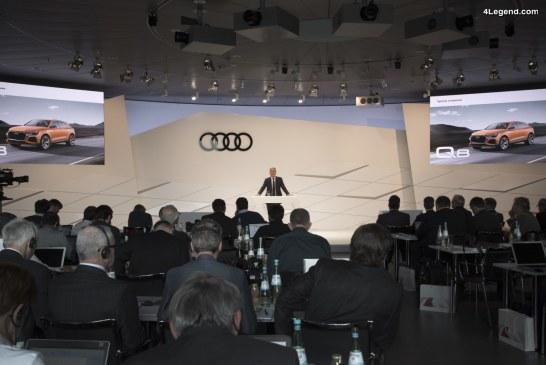 Live conférence de presse annuelle Audi à Ingolstadt – 15/03/2018 à 10h00