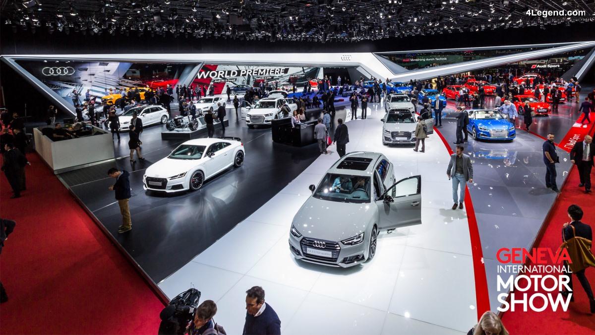 Live conférence de presse Audi au Salon de Genève 2018