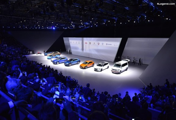 Live Volkswagen Group Night au salon de Genève 2018