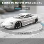 Porsche présente l'application «Mission E Augmented Reality»