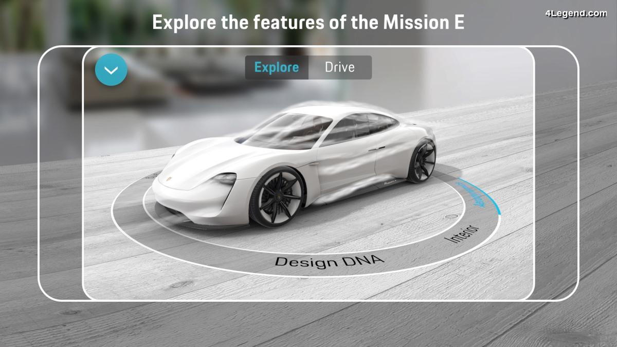 Porsche présente l'application