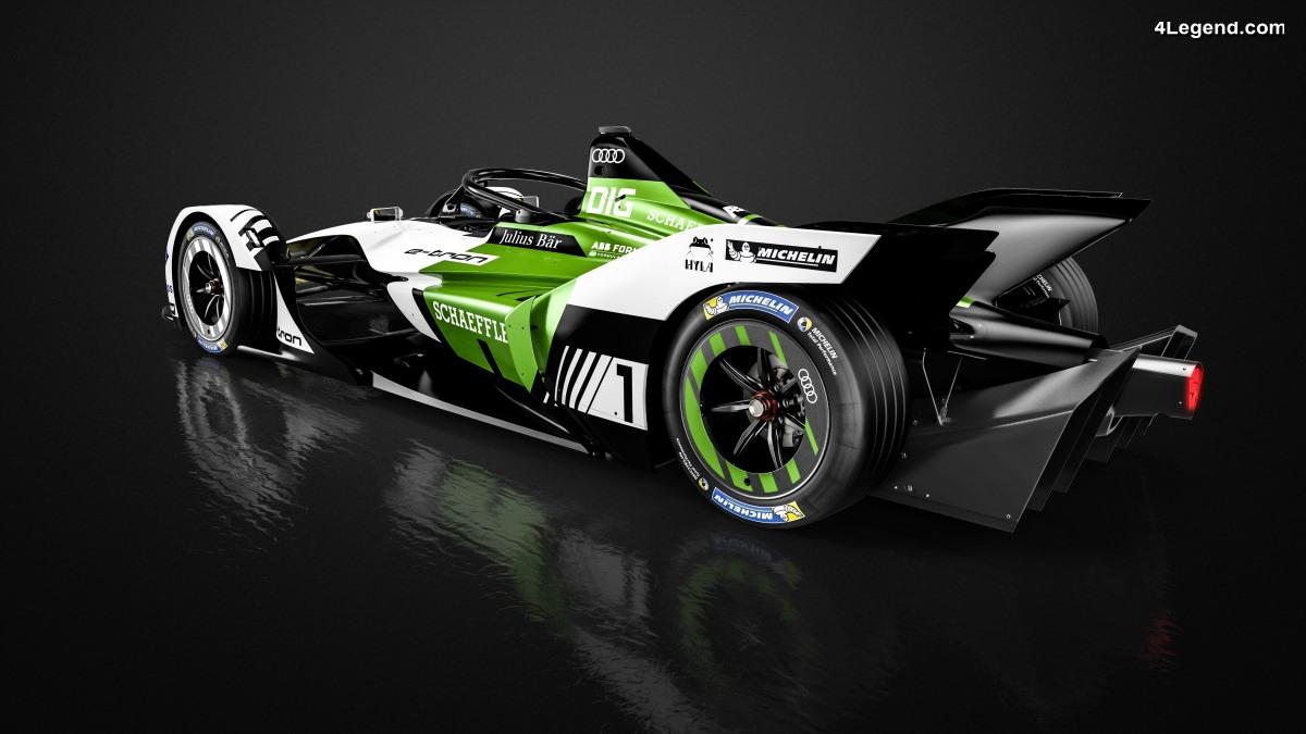 Formule E - L'Audi e-tron FE05 prête pour ses premiers tours d'essai