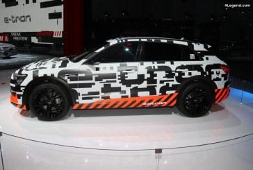 Audi e-tron prototype : aperçu du premier modèle entièrement électrique d'Audi à Genève 2018