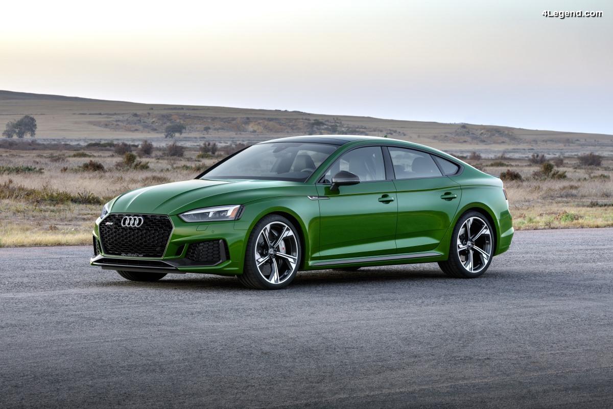 Nouvelle Audi RS 5 Sportback - La famille RS 5 s'agrandit sur le marché nord américain