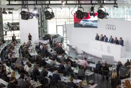 Audi enregistre des performances solides en 2017 et accélère la transformation de son activité