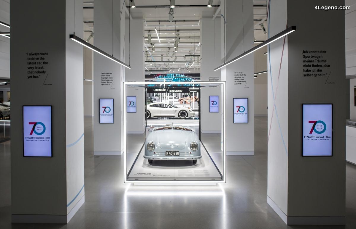 Porsche inaugure son exposition